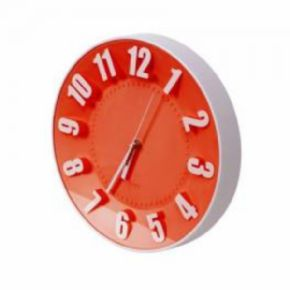 RELOJ DE PARED PLATINET TODAY ROJO PZTRC