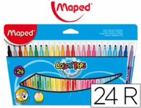 ROTULADOR MAPED COLOR PEPS 845022 CAJA DE 24 UNID