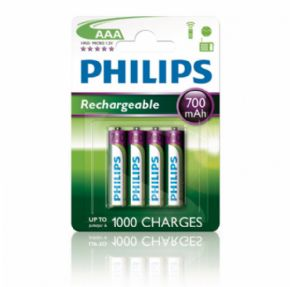 Pila recargable Philips 700 mAh