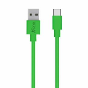 CABLE USB TIPO C  PLANO VERDE