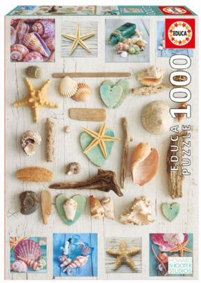 PUZZLE 1000 COLLAGE DE CARACOLAS 17658
