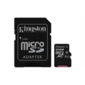 Tarjeta micro SD 64 GB Kingston Canvas Select Canon digital de 0,29 € incluido