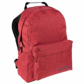 MOCHILA JEAN MUST RED 42x32x17 CMS
