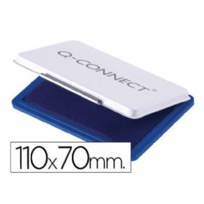 TAMPON Q-CONNECT 110X70MM AZUL