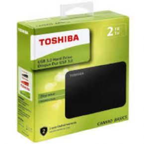 Disco Duro TOSHIBA Canvio 2TB 3.0, Canon Digital Incluido de 7,80€