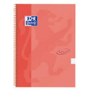 Cuaderno espiral Oxford Soft Touch Coral