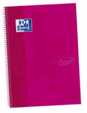 Cuaderno Oxford European Book Soft Touch Frambuesa