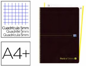 Cuaderno Oxford Black and colors Lima