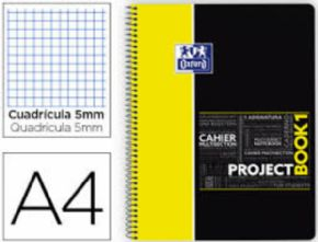 Cuaderno Oxford Project Book Amarillo