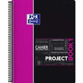 Cuaderno Oxford Project Book Rosa