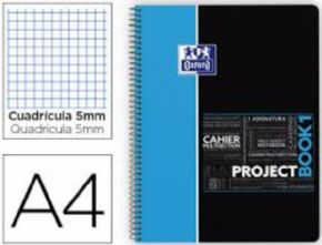 Cuaderno Oxford Project Book Azul