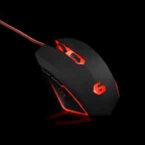 Gaming mouse, USB, red (MUSG-001-R)