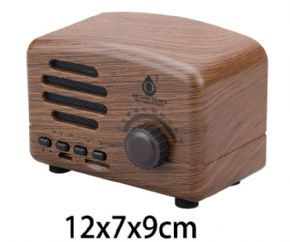 MINI ALTAVOZ BLUETOOTH TOASTER F4307 MADERA