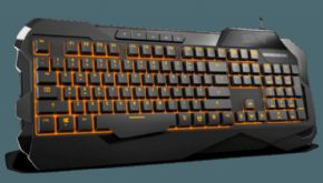 Teclado Gaming KROM KROWN Retroiluminado