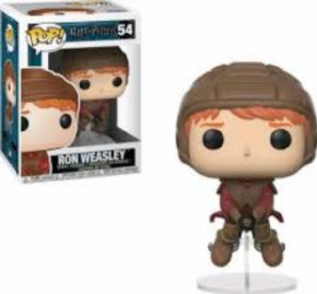 Figura Funko POP Ron on Broom