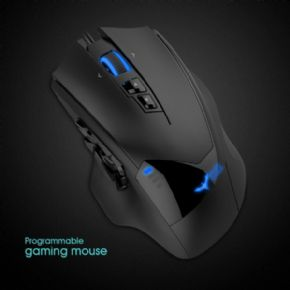Havit MMO Gaming Mouse Cableado 12000DPI  Pixart PMW3360 (HV-MS735)