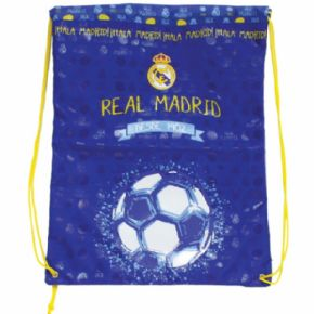 SACO BLUE REAL MADRID 43X36 CMS