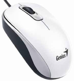 RATON GENIUS DX 110 USB ALAMBRICO BLANCO